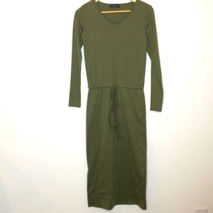 Doublju Sweatshirt Midi Dress size small